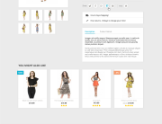 Prestashop 1.7 default product page